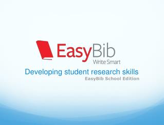 Developing student research skills
