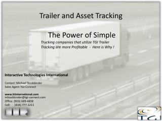 Trailer and Asset Tracking  The Power of Simple