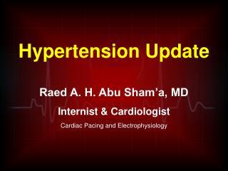 Hypertension Update