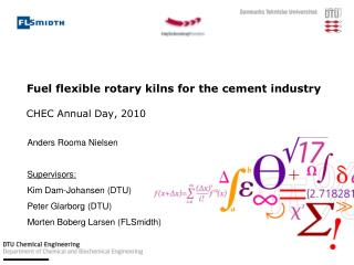 Fuel flexible rotary kilns for the cement industry