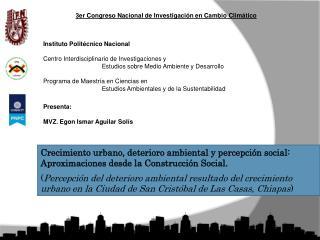 Instituto Polit�cnico Nacional  Centro Interdisciplinario de Investigaciones y
