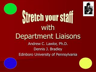 with Department Liaisons