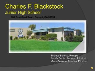 Charles F. Blackstock Junior High School
