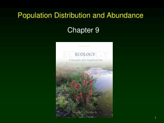 Population Distribution and Abundance