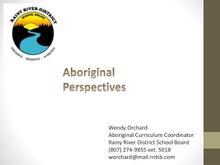 Aboriginal Perspectives