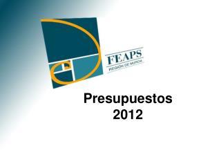 Presupuestos 2012