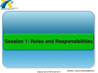 Board Leadership Roles  and Responsibilities