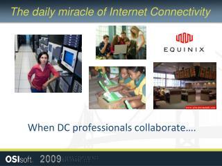 When DC professionals collaborate….