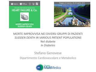 Stefano Genovese Dipartimento Cardiovascolare e Metabolico