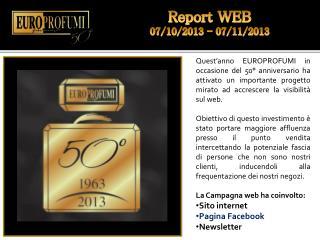 Report WEB  07/10/2013 - 07/11/2013