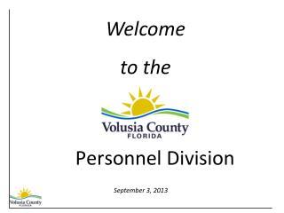 Personnel Division