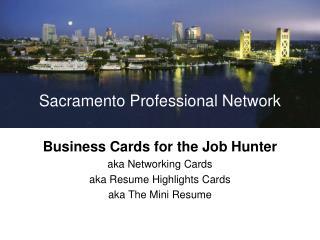 Sacramento Professional Network