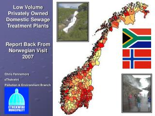 Low Volume Privately Owned Domestic Sewage Treatment Plants Report Back From Norwegian Visit 2007