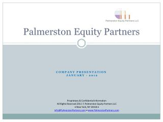 Palmerston Equity Partners