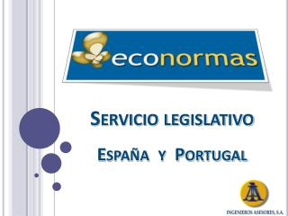 Servicio legislativo España   y  Portugal