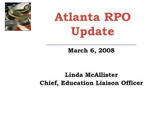 Atlanta RPO Update
