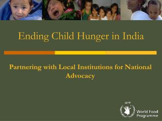 Ending Child Hunger in India