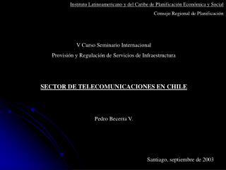 Instituto Latinoamericano y del Caribe de Planificación Económica y Social
