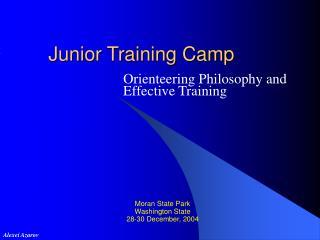 Junior Training Camp