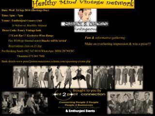 Healthy Mind Vintage network