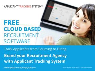 Brand your Recruitment Agency with Applicant Tracking System