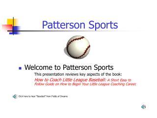 Patterson Sports