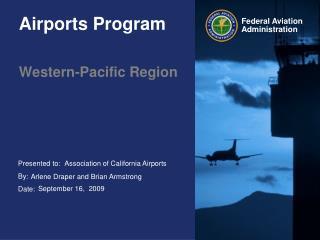 Airports Program