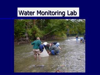Water Monitoring Lab