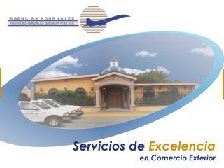Servicios de  Excelencia en Comercio Exterior
