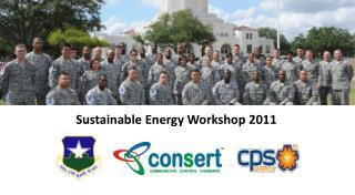 Sustainable Energy Workshop 2011
