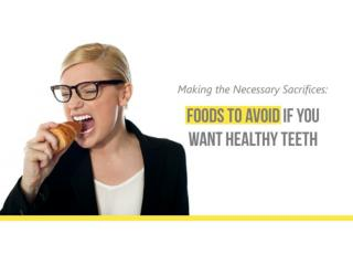 Food and Teeth: Healthy Food Choices For Healthier Teeth