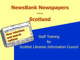 NewsBank Newspapers --- Scotland