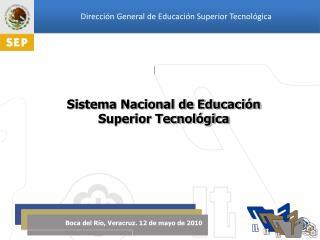 Sistema Nacional de Educación  Superior Tecnológica