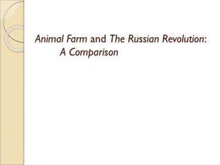 Animal Farm and the Russian Revolution