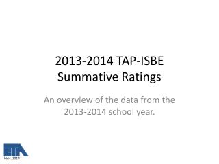 2013-2014 TAP-ISBE Summative Ratings