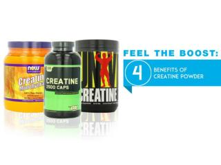 Feel The Boost: The Four Benefits of Creatine Powder
