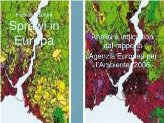 Fabrizio Bottini Sprawl in Europa