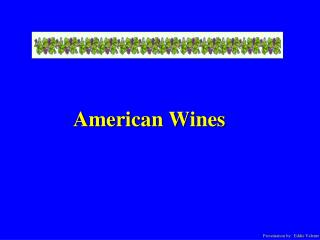 American Wines