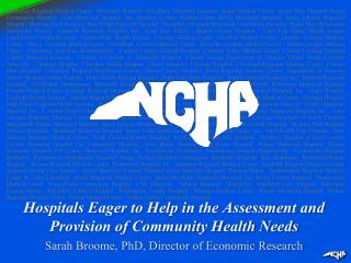 Hospitals Eager to Help in the Assessment and Provision of Community Health Needs
