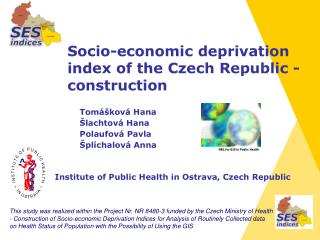 Socio-economic deprivation index  o f the Czech Republic  - c onstruction