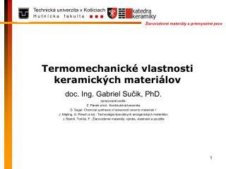 Termomechanické vlastnosti keramických materiálov