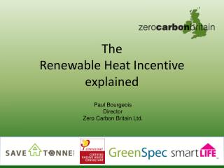 The Renewable Heat Incentive explained