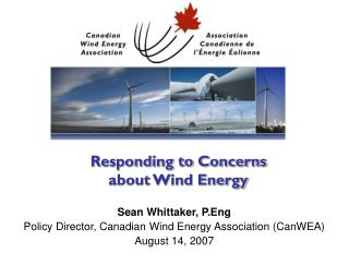 Responding to Concerns about Wind Energy