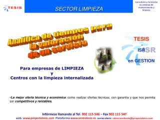 SECTOR LIMPIEZA