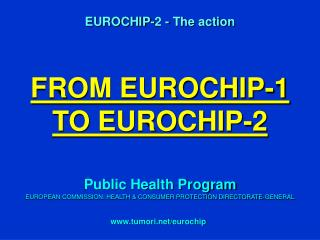 FROM EUROCHIP-1 TO EUROCHIP-2