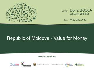 Republic of Moldova - Value for Money