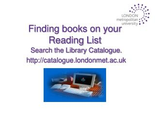 Finding books on your Reading List