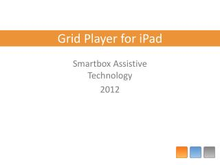 Grid Player for iPad