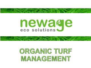 ORGANIC TURF MANAGEMENT