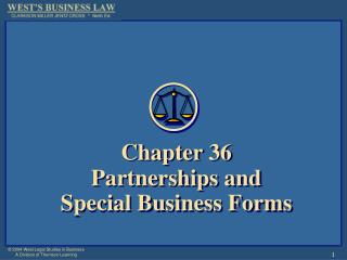 Chapter 36Partnerships and Special Business Forms